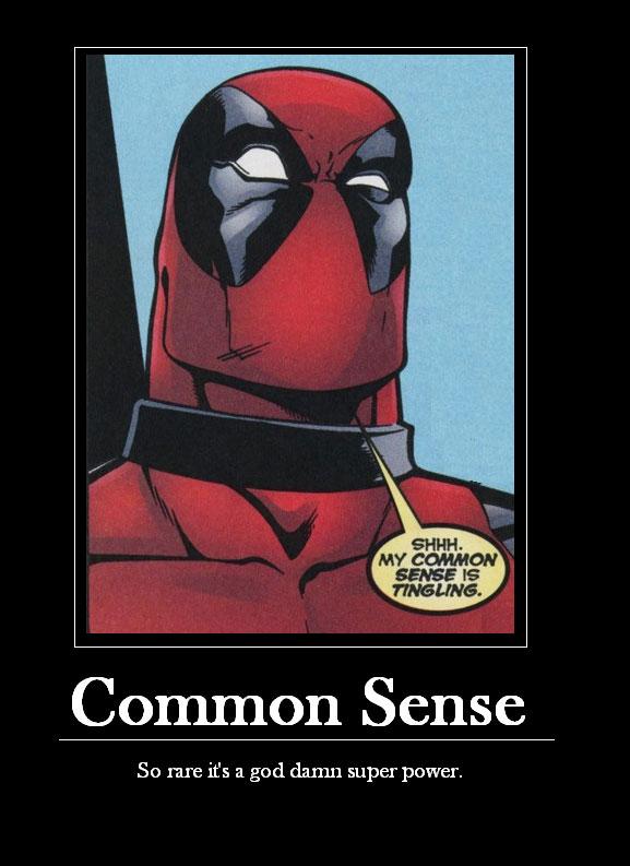 common Sense superpower