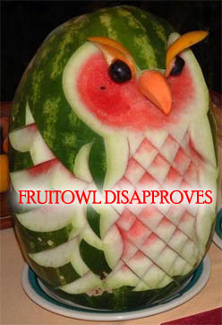 Fruit Owl Disapproves