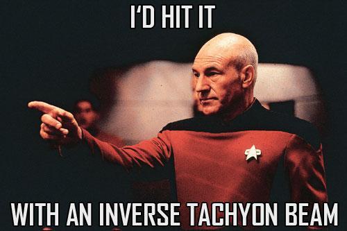 Picard would hit it