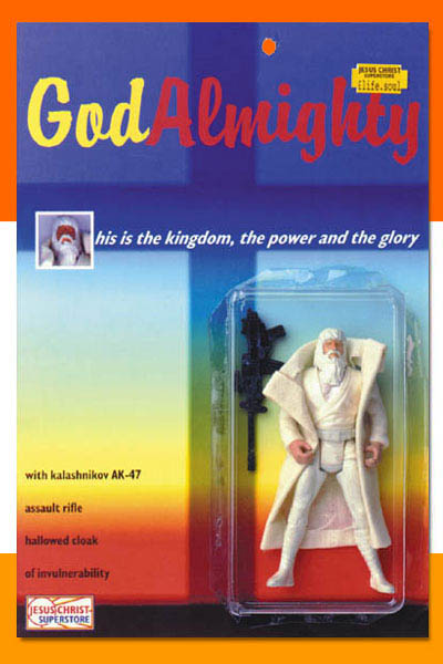 God action figure