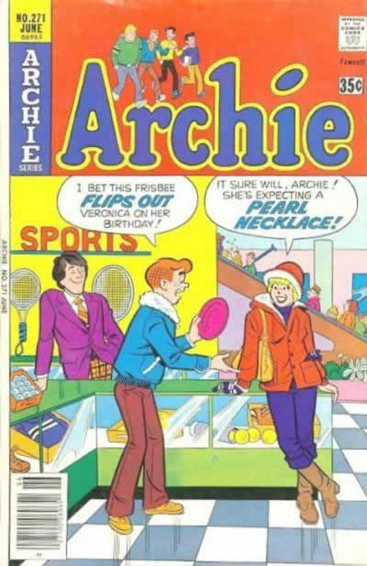 Archie and the Pearl Necklace
