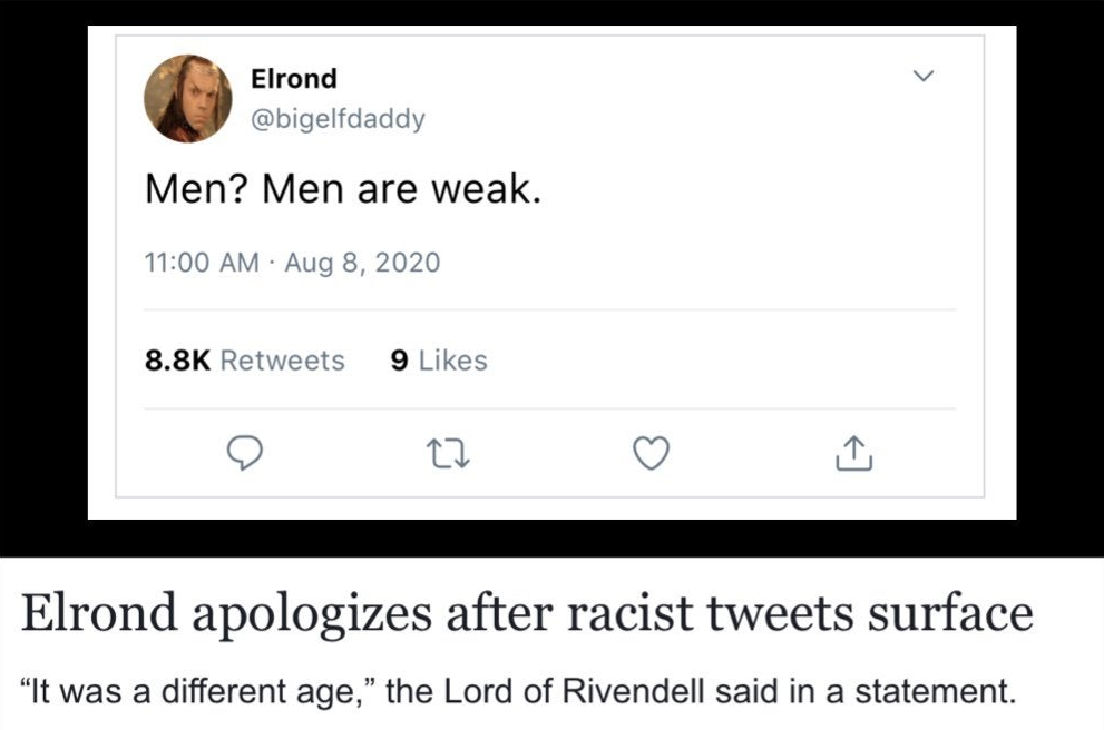 Racist tweet emerges