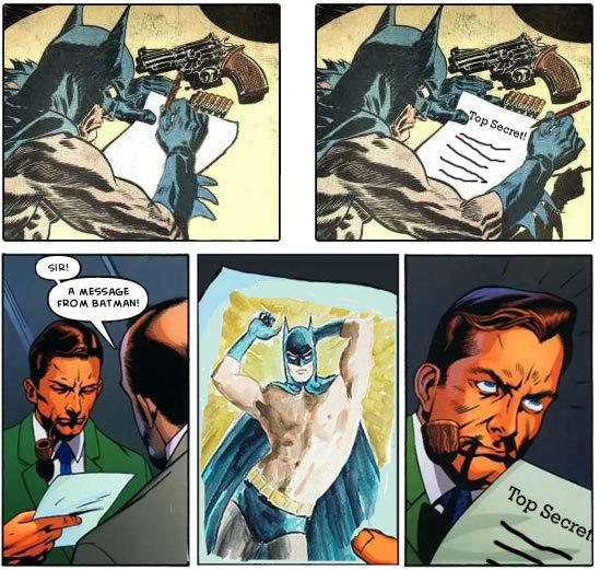 Message from Batman