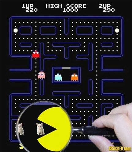The truth about Pacman