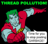 Thread Pollution