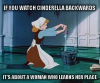 Cinderella Backwards